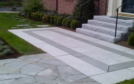 front walkway for milestone
